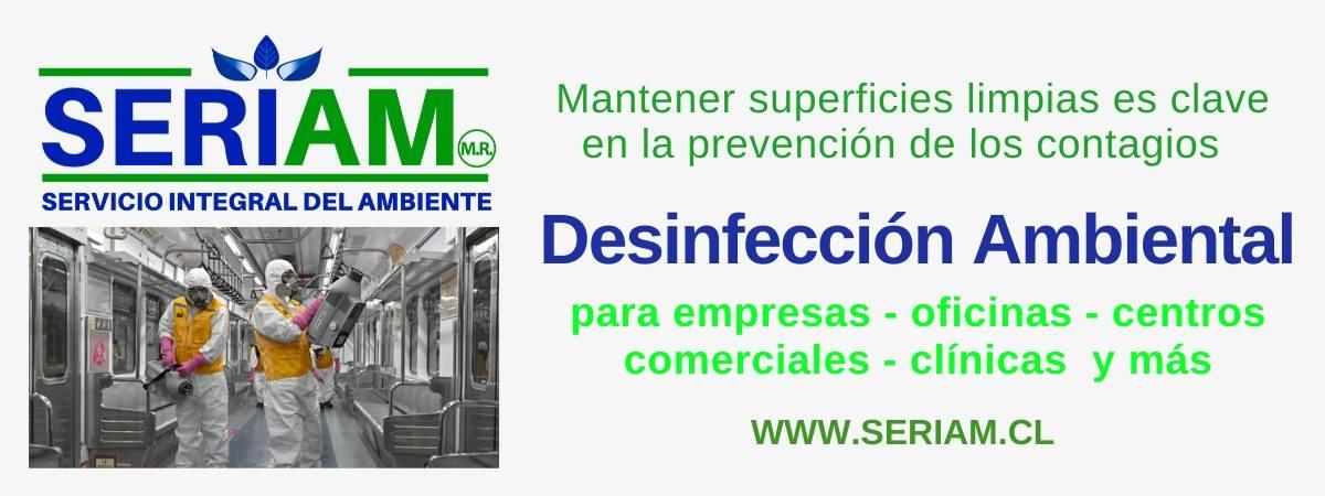 Desinfección ambiental