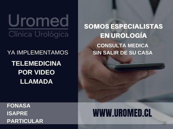 Clínica Urológica en Providencia - Telemedicina