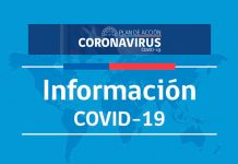 Casos confirmados en Chile COVID-19
