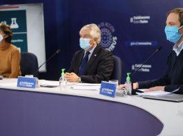 Ministro Paris hace un llamado a combatir el virus con más fuerza