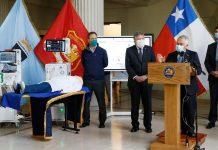 Autoridades presentan primeros ventiladores mecánicos desarrollados en Chile