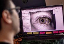 Reconocimiento del iris TOC Biometrics