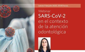 """Webinar """"SARS-CoV-2 en el contexto de la atención odontológica"""""""