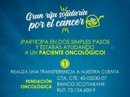 Gana y ayuda con rifa solidaria de Fundación Oncológica
