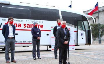 Minsal habilita bus para aumentar la donación de sangre