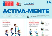 """""""Activa-Mente"""": Dan a conocer iniciativa de Gobierno para promover las pausas saludables durante las jornadas escolares"""
