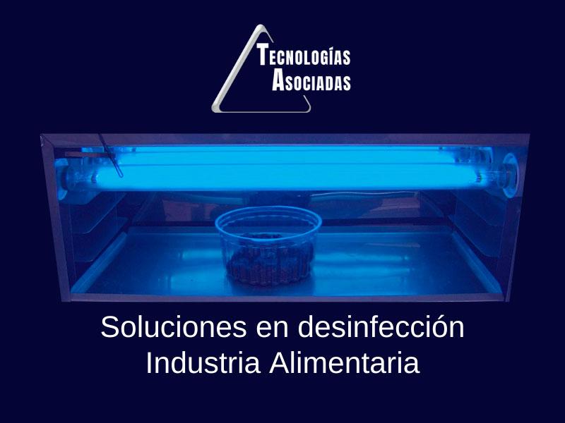 Luz Ultravioleta Germicida industria alimentaria TECNOAS
