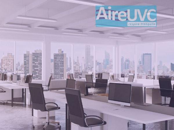 Luz ultravioleta germicida UVC para desinfección de casa-oficina AireUVC