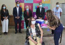 COVID-19: Ministros de Salud y Educación dan inicio a vacunación para miembros de la comunidad educativa