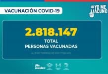 Más de 1,7 millón de adultos mayores de 65 años se ha vacunado contra el COVID-19