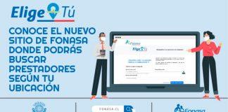 Elige tú   Fonasa lanza buscador en línea de prestadores en convenio