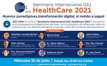 GS1 realizará Seminario Internacional GS1 HealthCare 2021