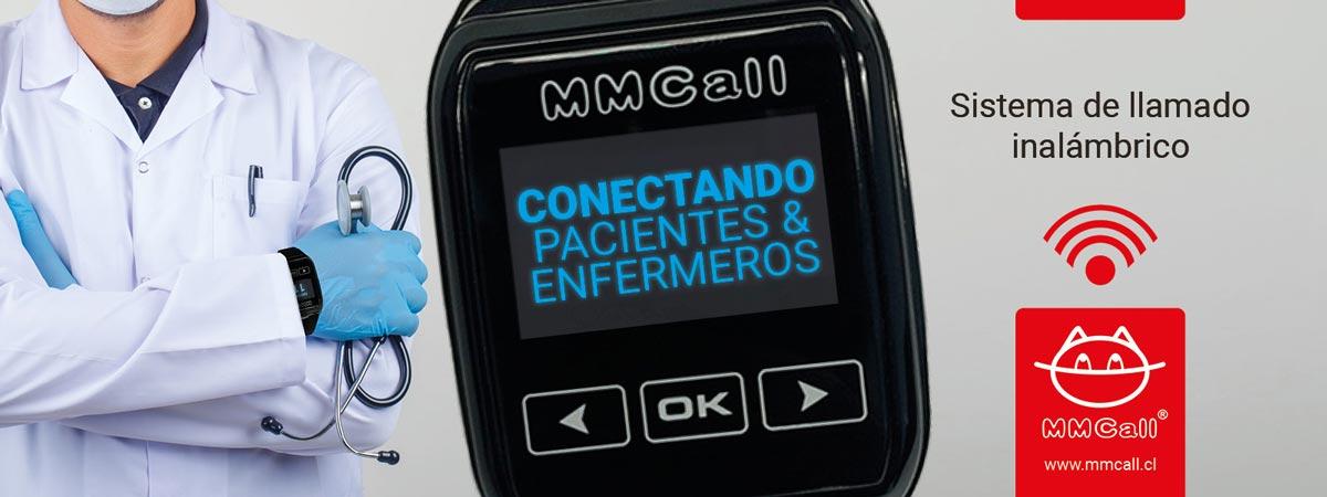 beeper-enfermeros sistema de llamado inalámbrico MMCALL