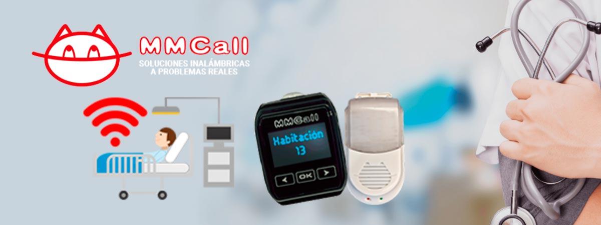 soluciones inalámbricas sector salud mmcall