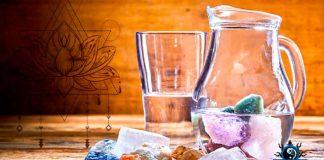Cuarzos curativos en agua permiten balancear mente, espíritu y alma