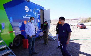 Clínica Dental Móvil: más de 800 atenciones han recibido los vecinos del Salar de Atacama