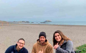 Desafío ambiente y wheel the world: Inauguran primera pasarela retráctil fabricada con plástico reciclado que permitirá el acceso universal a la playa