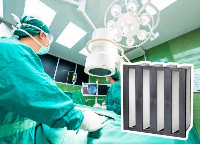 Los increíbles resultados de la filtración de aire industrial utilizado en hospitales