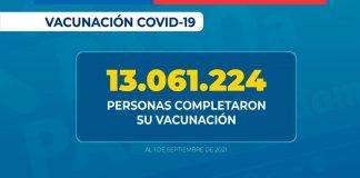 Más de un millón 615 mil personas han recibido su vacuna de refuerzo contra SARS-CoV-2