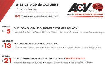 Uno de cada cuatro Chilenos no reconoce los síntomas de un Ataque Cerebrovascular (ACV)