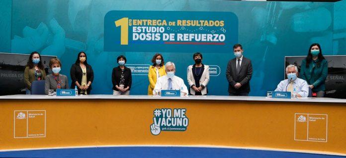 Chile realiza primer estudio a nivel mundial sobre uso de dosis de refuerzo en vacunas inactivadas