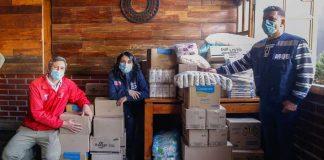 Ministerio de Desarrollo Social y Familia y Elige Vivir Sano han entregado más de 758 mil kilos de alimentos saludables a ollas comunes de todo Chile