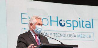 Ministro Paris inaugura Expo Hospital 2021