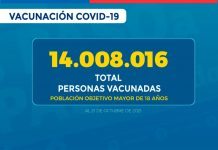 74,17% de la población entre 6 y 17 años ha recibido su primera dosis de la vacuna contra SARS-CoV-2